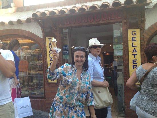 Buonocore Gelateria : Consegui!! Encontrei o melhor gelato de Capri!!