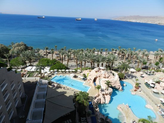 Dan Eilat : View from our balcony