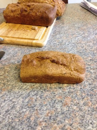 The Pendennis Guest House: Homemade bread