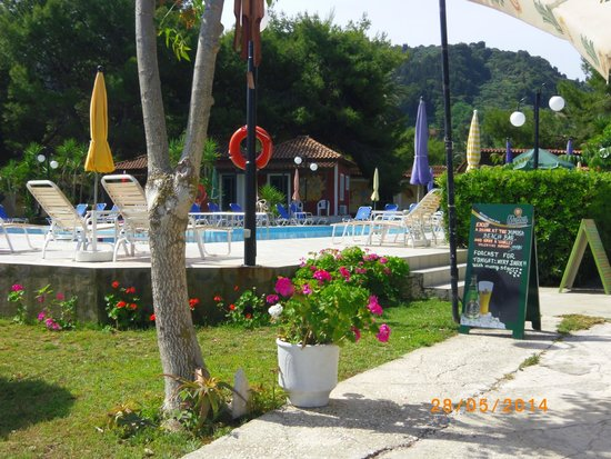 Mimosa Beach Bar : POOL AREA