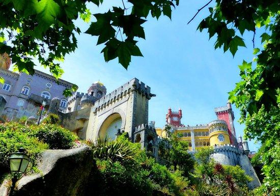 Yellow Bus Tours Lisbon : Pena Palace, Sintra