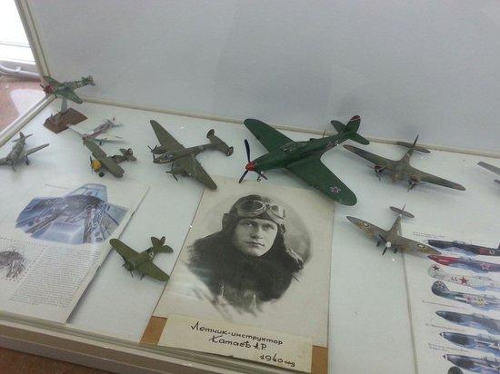 Museum of military technologies Oruzhie Pobedy: Макеты самолетов