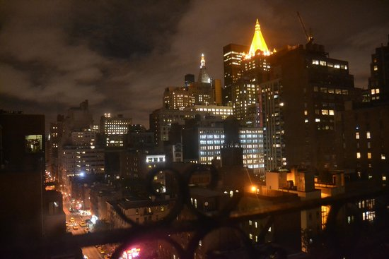 The Hotel @ New York City : View from room 1209