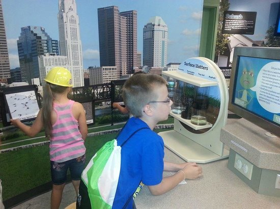 Center of Science and Industry (COSI) : COSI