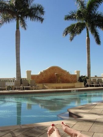 The Westin Cape Coral Resort At Marina Village: pool at the westin