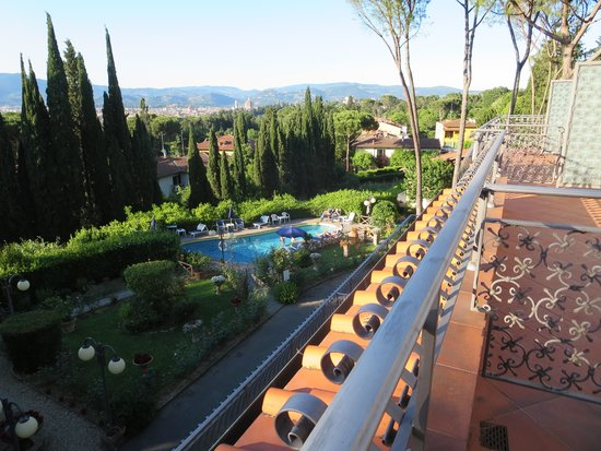 Villa Belvedere - Florence: View from the balcony