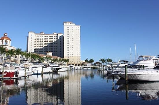 The Westin Cape Coral Resort At Marina Village: view from the marina