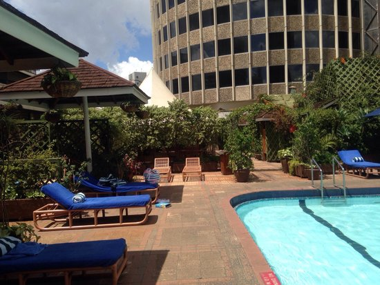 Hilton Nairobi : Beautiful pool