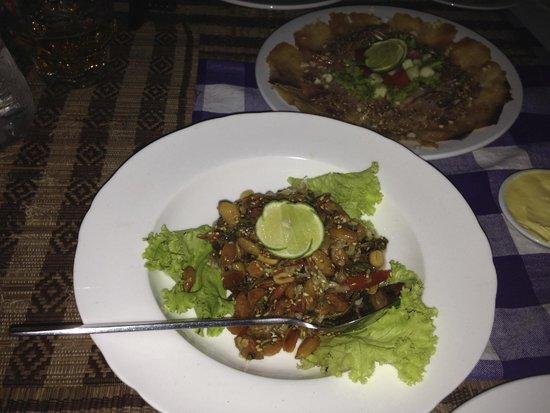 Star Beam: Tea leaf salad