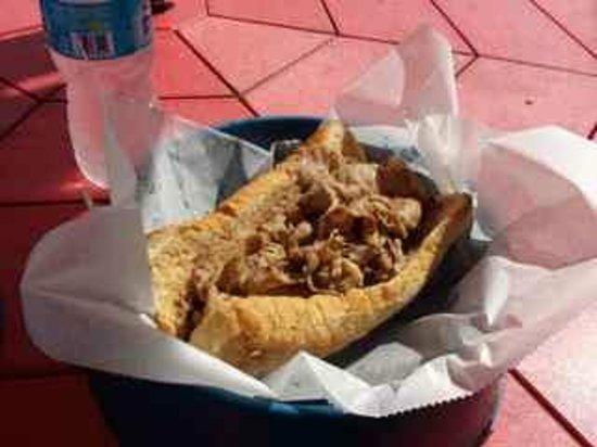Scruffy's Hot Dogs: Italian Beef (juicy)