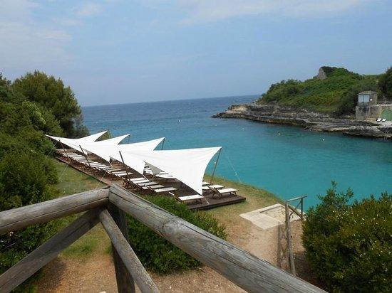 Le Cale d'Otranto Beach Resort: Le vele, al riparo dal sole