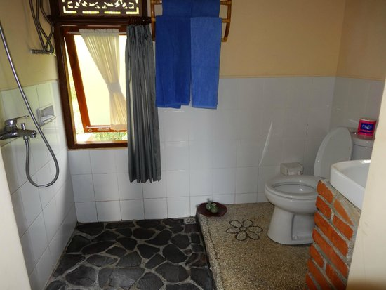 Puri Lumbung Cottages: our bathroom