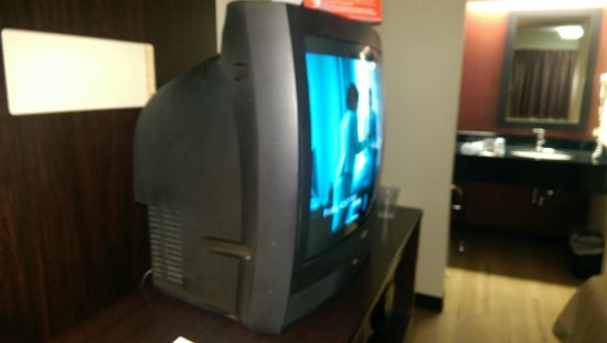 Red Roof Inn Austin North: Flat Screen TV?