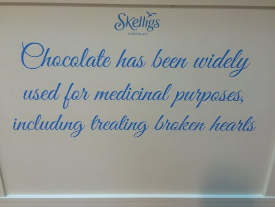 Skelligs Chocolate Co.: Counter