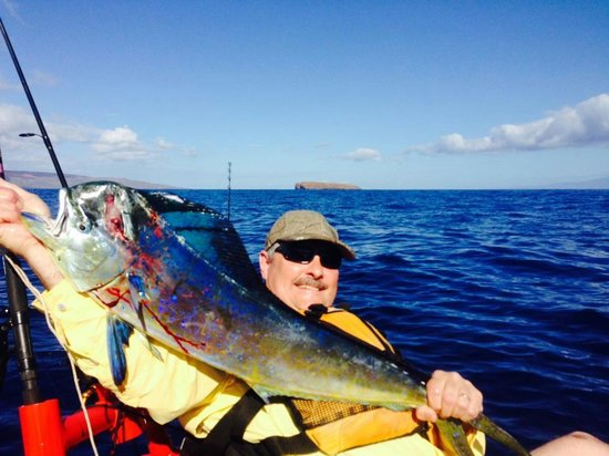 Maui 39 s version of the rooster fish picture of local for Local knowledge fishing