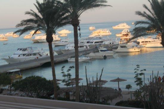Hurghada Marriott Beach Resort : Вид из номера