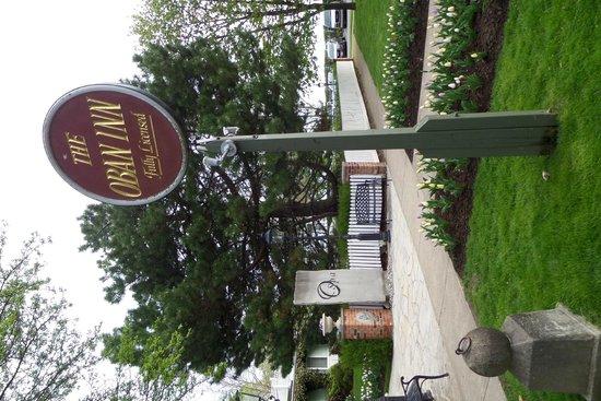 Oban Inn, Spa and Restaurant: sign