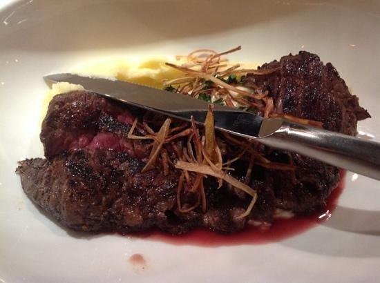 Craft & Vine: skirt steak.