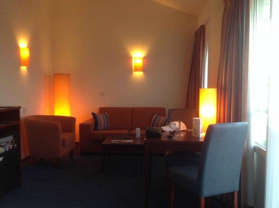 Hotel Greenside : Zitkamer