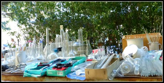 Vernissage Market: Provette di vetro