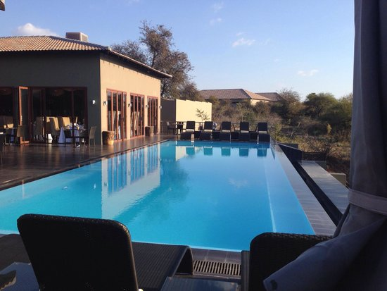 Palala Boutique Game Lodge and Spa: Palala infinity pool and sundeck