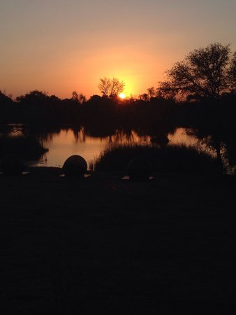Palala Boutique Game Lodge and Spa: Magical African Bushveld sunset