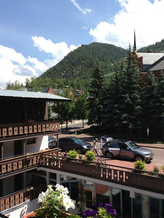 Mountain Chalet Aspen: The View from our room