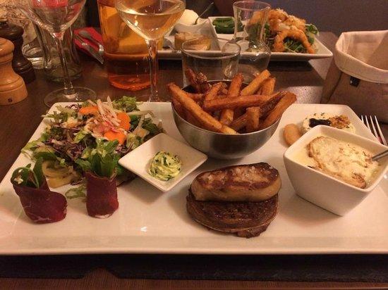 Le plat dans l'assiette: The italian themed beef dish