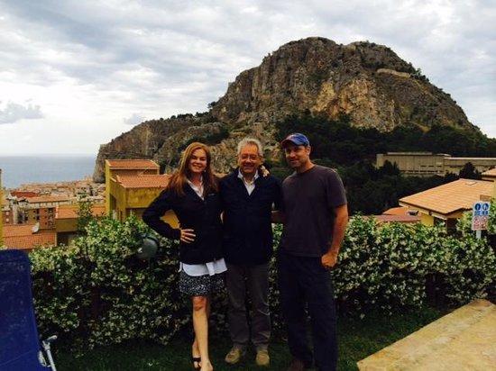 Villa di Giorgi: Our wonderful host, Saldo