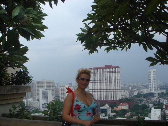 Baiyoke Sky Hotel: смотровая площадка