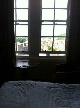 The Carlton Hotel: window view