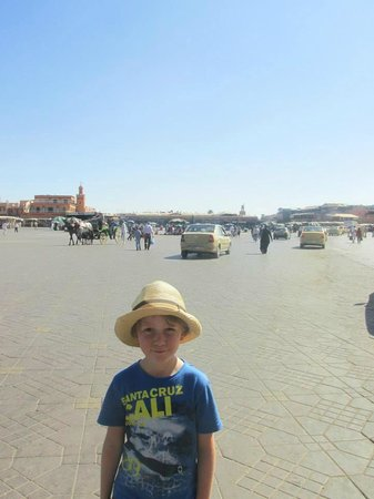 Marrakech Guided Tours: Place jemma el fna