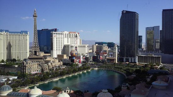 Caesars Palace : view from room
