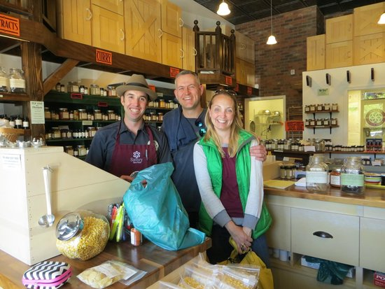 The Well Traveled Fork: Savory Spice shop in the Old Mill is full of great spices and herbs. The staff is very helpful!