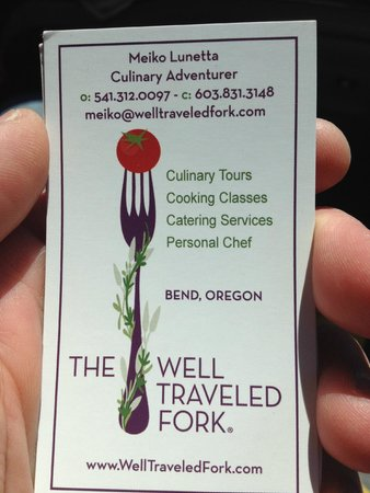 Meiko was a wonderful tour guide with the Well Traveled Fork!