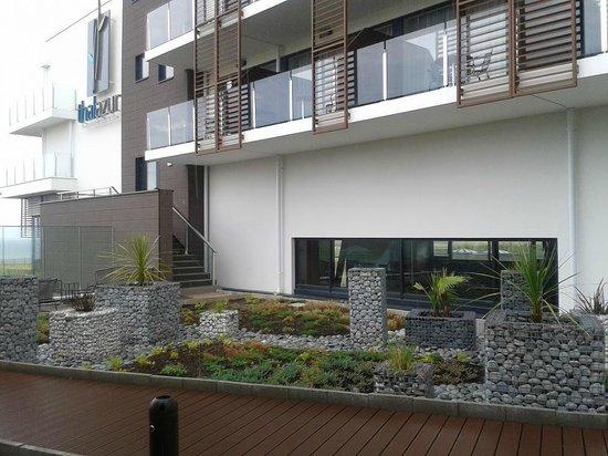 Hôtel les bains de Cabourg : Espace extérieur