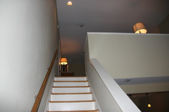 Sanderling Resort: Looking Up at Bedroom Upstairs