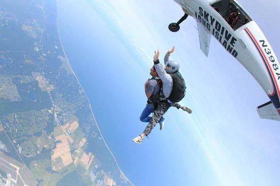 Skydive Long Island  David Ct Calverton Ny