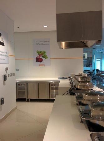 Novotel Dubai Al Barsha: Some interesting quotes in the restaurant