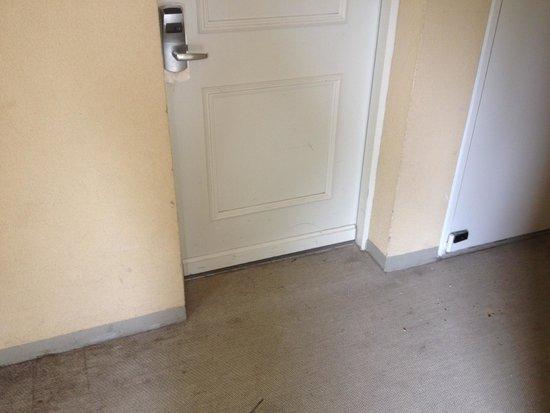 Adagio Aparthotel Val d'Europe: More stains around door
