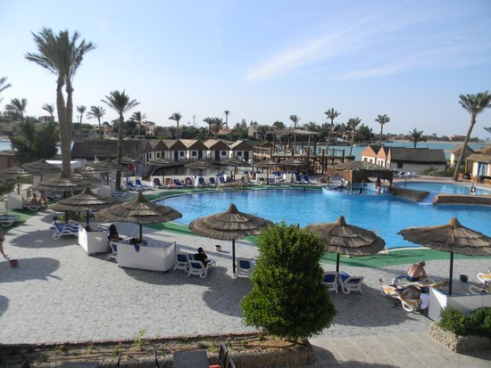 Panorama Bungalows Resort El Gouna: Вид сверху.