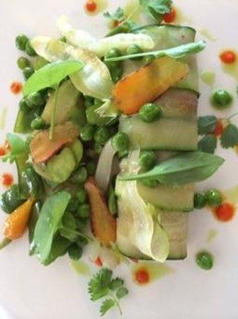 La Table de Franck Putelat : Vegetarian Main.