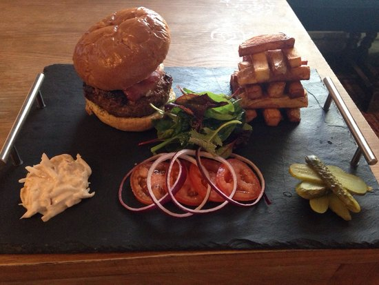 """The bluebell burger"""