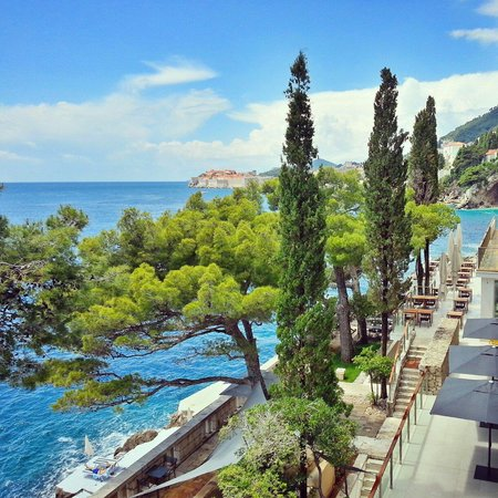 Villa Dubrovnik : View from the room ��