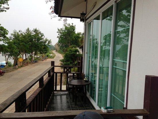 The River House: Balcony