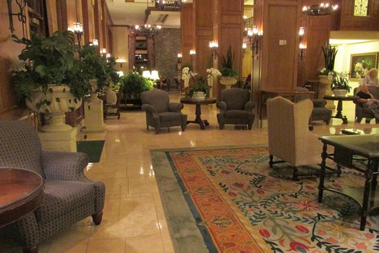 The Inn on Biltmore Estate: Shot of the Lobby