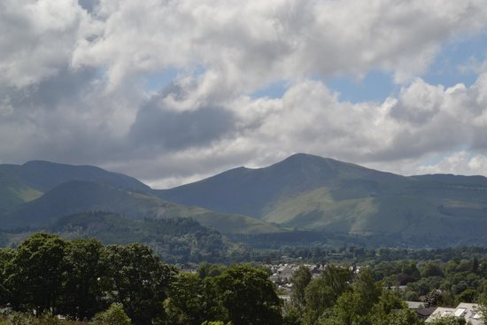 The Lookout Keswick: Another pic of view taken from Room 1