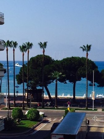 Grand Hyatt Cannes Hotel Martinez: The View from our room