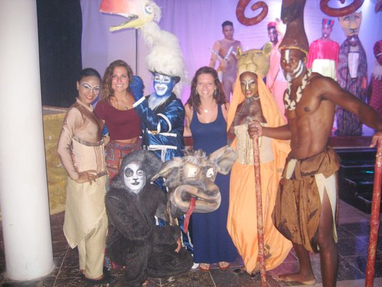The Reserve at Paradisus Palma Real: The Lion King performance