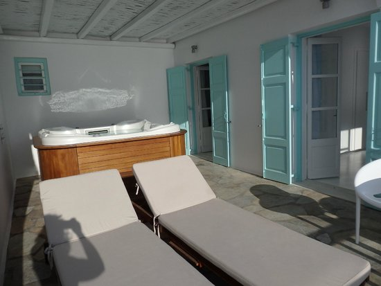 Bill & Coo Suites and Lounge : terrasse honeymoon deluxe suite nr. 106